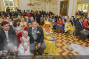 Lugner Hochzeit - Schloss Schönbrunn - Sa 13.09.2014 - Hochzeit Richard und Cathy LUGNER (Schmitz)35