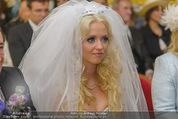 Lugner Hochzeit - Schloss Schönbrunn - Sa 13.09.2014 - Cathy SCHMITZ LUGNER37