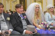 Lugner Hochzeit - Schloss Schönbrunn - Sa 13.09.2014 - Hochzeit Richard und Cathy LUGNER (Schmitz)38