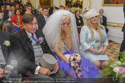 Lugner Hochzeit - Schloss Schönbrunn - Sa 13.09.2014 - Hochzeit Richard und Cathy LUGNER (Schmitz)40