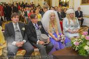Lugner Hochzeit - Schloss Schönbrunn - Sa 13.09.2014 - Hochzeit Richard und Cathy LUGNER (Schmitz)46