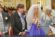 Lugner Hochzeit - Schloss Schönbrunn - Sa 13.09.2014 - Hochzeit Richard und Cathy LUGNER (Schmitz)48