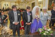Lugner Hochzeit - Schloss Schönbrunn - Sa 13.09.2014 - Hochzeit Richard und Cathy LUGNER (Schmitz)49