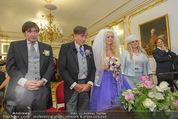 Lugner Hochzeit - Schloss Schönbrunn - Sa 13.09.2014 - Hochzeit Richard und Cathy LUGNER (Schmitz)50