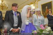 Lugner Hochzeit - Schloss Schönbrunn - Sa 13.09.2014 - Hochzeit Richard und Cathy LUGNER (Schmitz)51