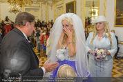 Lugner Hochzeit - Schloss Schönbrunn - Sa 13.09.2014 - Hochzeit Richard und Cathy LUGNER (Schmitz)54