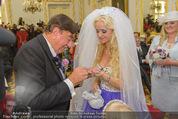 Lugner Hochzeit - Schloss Schönbrunn - Sa 13.09.2014 - Hochzeit Richard und Cathy LUGNER (Schmitz)56