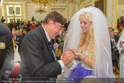 Lugner Hochzeit - Schloss Schönbrunn - Sa 13.09.2014 - Hochzeit Richard und Cathy LUGNER (Schmitz)57