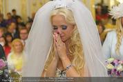 Lugner Hochzeit - Schloss Schönbrunn - Sa 13.09.2014 - Cathy SCHMITZ LUGNER58