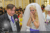 Lugner Hochzeit - Schloss Schönbrunn - Sa 13.09.2014 - Hochzeit Richard und Cathy LUGNER (Schmitz)59