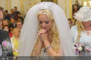Lugner Hochzeit - Schloss Schönbrunn - Sa 13.09.2014 - Cathy SCHMITZ LUGNER60