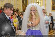 Lugner Hochzeit - Schloss Schönbrunn - Sa 13.09.2014 - Hochzeit Richard und Cathy LUGNER (Schmitz)64