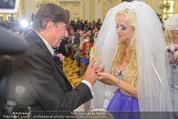 Lugner Hochzeit - Schloss Schönbrunn - Sa 13.09.2014 - Hochzeit Richard und Cathy LUGNER (Schmitz)66