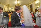 Lugner Hochzeit - Schloss Schönbrunn - Sa 13.09.2014 - Hochzeit Richard und Cathy LUGNER (Schmitz)67