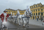 Lugner Hochzeit - Schloss Schönbrunn - Sa 13.09.2014 - sechssp�nnige Kutsche7
