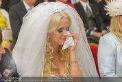 Lugner Hochzeit - Schloss Schönbrunn - Sa 13.09.2014 - Cathy SCHMITZ LUGNER69
