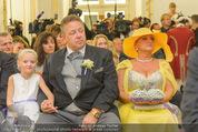 Lugner Hochzeit - Schloss Schönbrunn - Sa 13.09.2014 - Eltern der Braut (Familie)74