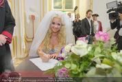 Lugner Hochzeit - Schloss Schönbrunn - Sa 13.09.2014 - Cathy SCHMITZ LUGNER76