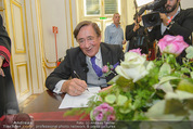 Lugner Hochzeit - Schloss Schönbrunn - Sa 13.09.2014 - Richard LUGNER78