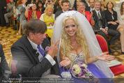 Lugner Hochzeit - Schloss Schönbrunn - Sa 13.09.2014 - Hochzeit Richard und Cathy LUGNER (Schmitz)79