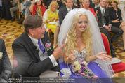 Lugner Hochzeit - Schloss Schönbrunn - Sa 13.09.2014 - Hochzeit Richard und Cathy LUGNER (Schmitz)80