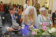 Lugner Hochzeit - Schloss Schönbrunn - Sa 13.09.2014 - Hochzeit Richard und Cathy LUGNER (Schmitz)81