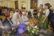 Lugner Hochzeit - Schloss Schönbrunn - Sa 13.09.2014 - Hochzeit Richard und Cathy LUGNER (Schmitz)82