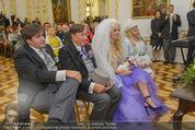 Lugner Hochzeit - Schloss Schönbrunn - Sa 13.09.2014 - Hochzeit Richard und Cathy LUGNER (Schmitz)83