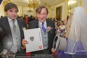 Lugner Hochzeit - Schloss Schönbrunn - Sa 13.09.2014 - Hochzeit Richard und Cathy LUGNER (Schmitz)85