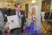 Lugner Hochzeit - Schloss Schönbrunn - Sa 13.09.2014 - Hochzeit Richard und Cathy LUGNER (Schmitz)87