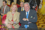 Lugner Hochzeit - Schloss Schönbrunn - Sa 13.09.2014 - Edi FINGER, Erika SUESS9