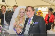 Lugner Hochzeit - Schloss Schönbrunn - Sa 13.09.2014 - Hochzeit Richard und Cathy LUGNER (Schmitz)98