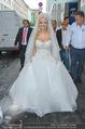 Lugner Hochzeit - Lugner City - Sa 13.09.2014 - Cathy SCHMITZ LUGNER im Verlobungskleid23