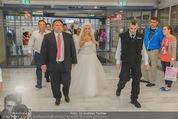 Lugner Hochzeit - Lugner City - Sa 13.09.2014 - Cathy SCHMITZ LUGNER im Verlobungskleid24