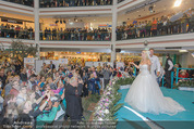 Lugner Hochzeit - Lugner City - Sa 13.09.2014 - Cathy SCHMITZ LUGNER im Verlobungskleid26