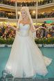 Lugner Hochzeit - Lugner City - Sa 13.09.2014 - Cathy SCHMITZ LUGNER im Verlobungskleid30