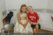 Lugner Hochzeit - Lugner City - Sa 13.09.2014 - Leonie (Tochter der Braut), Sofia (Nachbarskind)6