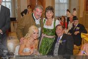 Lugner Feier - Palais Liechtenstein - Sa 13.09.2014 - Richard und Cathy LUGNER (Schmitz)15