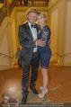Lugner Feier - Palais Liechtenstein - Sa 13.09.2014 - Christian MAREK mit Claudia4