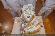 Lugner Feier - Palais Liechtenstein - Sa 13.09.2014 - Hochzeitstorte42