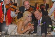 Lugner Feier - Palais Liechtenstein - Sa 13.09.2014 - Richard und Cathy LUGNER (Schmitz)7