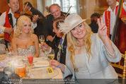Lugner Feier - Palais Liechtenstein - Sa 13.09.2014 - Richard und Cathy LUGNER (Schmitz), Schwester Beate8