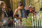 Re-Opening - Hotel Imperial - Di 16.09.2014 - Helena CHRISTENSEN beim Buffet172