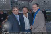 Netflix Launchevent - Motto am Fluss - Mi 17.09.2014 - Reed HASTINGS, Alexander WRABETZ66