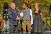 Almdudler Trachtenpärchenball - Rathaus - Fr 19.09.2014 - Tom WALEK, Michaela KLEIN, Michael HÄUPL118