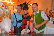 Almdudler Trachtenpärchenball - Rathaus - Fr 19.09.2014 - Tamara MASCARA, Gerhard SCHILLING204