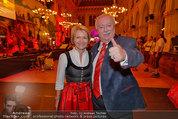 Almdudler Trachtenpärchenball - Rathaus - Fr 19.09.2014 - Michael und Barbara HÄUPL81
