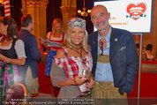 Almdudler Trachtenpärchenball - Rathaus - Fr 19.09.2014 - Doris und Gabor ROSE86