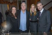 Empfang für Randy Newman - Residenz der US-Botschaft - Di 23.09.2014 - Alexa Lange und Blaine Fleming WESNER, Randy u Gretchen NEWMANN34