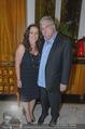 Empfang für Randy Newman - Residenz der US-Botschaft - Di 23.09.2014 - Randy NEWMANN mit Ehefrau Gretchen38